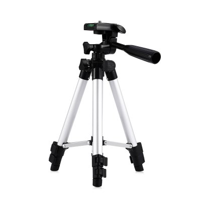 HM330A Portable Camera Tripod Built-in Water Level