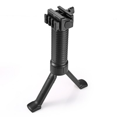 Foldable Retractable Vertical Bipod Foregrip