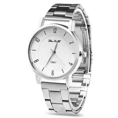 Female Stainless Steel Band Quartz Watch