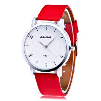 Women Simple Dial Quartz Watch