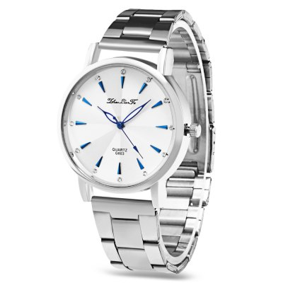 Female Stainless Steel Strap Quartz Watch