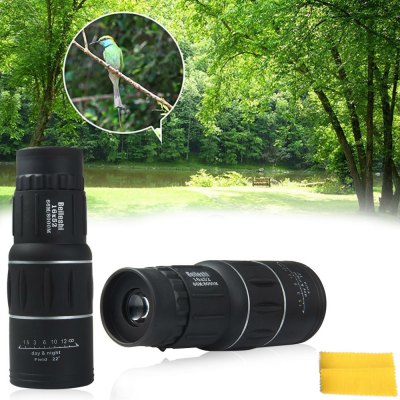 Beileshi 16 x 52 Dual Coated Lens 16X Monocular TelescopeBinoculars and Telescopes<br>Beileshi 16 x 52 Dual Coated Lens 16X Monocular Telescope<br><br>Color: Black<br>Package Contents: 1 x 16 x 52 Dual Focus Optic Lens Monocular Telescope, 1 x Pouch, 1 x Lens Cloth, 1 x Bilingual User Manual in English and Chinese<br>Package Size(L x W x H): 16.90 x 6.50 x 6.50 cm / 6.65 x 2.56 x 2.56 inches<br>Package weight: 0.2980 kg<br>Product Size(L x W x H): 14.90 x 5.35 x 5.65 cm / 5.87 x 2.11 x 2.22 inches<br>Product weight: 0.2350 kg