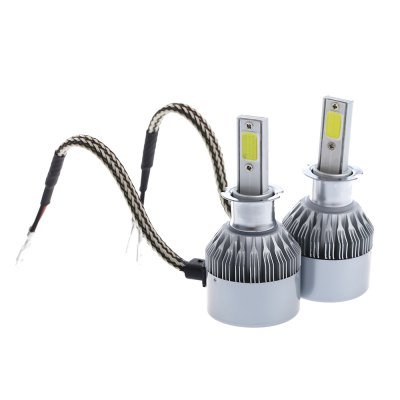 2pcs C6 H3 Super Bright LED Headlight