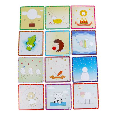 Sticky Rolled Paper Painting Toy for Children