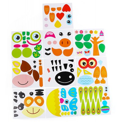 Sticky Paper Plate Painting Toy for Children