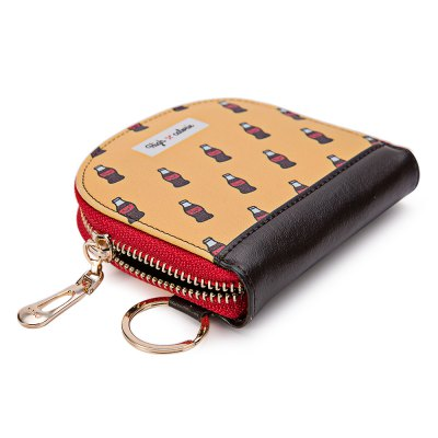 Guapabien Cute Pattern Mini Wallet Coin Purse for GirlsCoin Purse &amp; Card Holder<br>Guapabien Cute Pattern Mini Wallet Coin Purse for Girls<br><br>Closure Type: Zipper<br>Height: 10<br>Length(CM): 11<br>Package Contents: 1 x Coin Purse<br>Package size (L x W x H): 16.00 x 7.00 x 15.00 cm / 6.3 x 2.76 x 5.91 inches<br>Package weight: 0.1000 kg<br>Product size (L x W x H): 11.00 x 2.00 x 10.00 cm / 4.33 x 0.79 x 3.94 inches<br>Product weight: 0.0800 kg<br>Width: 2
