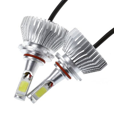 2pcs COB 9006 All-in-one LED Car HeadlightCar Headlights<br>2pcs COB 9006 All-in-one LED Car Headlight<br><br>Light Source: LED<br>Package Contents: 2 x Car LED Headlight<br>Package Size(L x W x H): 15.50 x 14.00 x 6.00 cm / 6.1 x 5.51 x 2.36 inches<br>Package weight: 0.3260 kg<br>Product Size(L x W x H): 7.20 x 4.20 x 4.20 cm / 2.83 x 1.65 x 1.65 inches<br>Product weight: 0.2170 kg