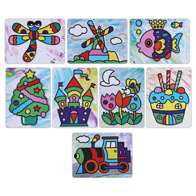 Sticky Painting Educational Toy for Children
