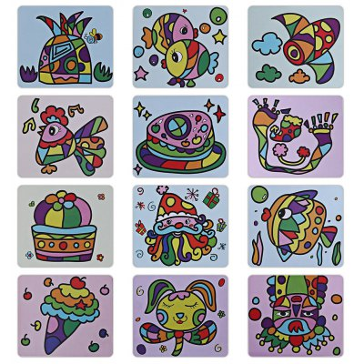 Sand Painting Toy for Children