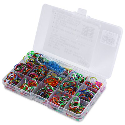 Rubber Loom Band Kit DIY Toy for Children
