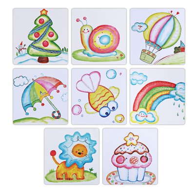 Sticky Brushy Ball Painting Toy for Children