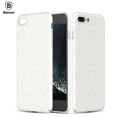Baseus Plaid Case Back Cover Skin for iPhone 7 Plus 5.5 inch