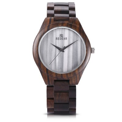 REDEAR SJ1448 - 1 Unisex Wood Quartz WatchUnisex Watches<br>REDEAR SJ1448 - 1 Unisex Wood Quartz Watch<br><br>Band Length: 8.66 inch<br>Band Material Type: Wooden<br>Band Width: 24mm<br>Case material: Wooden<br>Case Shape: Round<br>Clasp type: Folding Clasp<br>Dial Diameter: 1.77 inch<br>Dial Display: Analog<br>Dial Window Material Type: Hardlex<br>Gender: Men,Women<br>Movement: Quartz<br>Package Contents: 1 x Watch, 1 x Watch Box<br>Package Size(L x W x H): 6.00 x 15.60 x 3.20 cm / 2.36 x 6.14 x 1.26 inches<br>Package weight: 0.1430 kg<br>Product Size(L x W x H): 22.00 x 5.30 x 1.10 cm / 8.66 x 2.09 x 0.43 inches<br>Product weight: 0.0590 kg<br>Style: Simple
