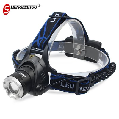 Shengfeihuo LED T6 Zoom Rechargeable Head Lamp Searchlight