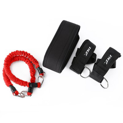 TTCZ Elastic Resistance Band SetExercise Equipments<br>TTCZ Elastic Resistance Band Set<br><br>Application: Pull Rope<br>Department Name: Unisex<br>Function: Comprehensive Fitness Exercise<br>Package Contents: 2 x Training Resistance Band, 1 x Waist Support, 2 x Pedal, 1 x Bag<br>Package Size(L x W x H): 24.00 x 9.00 x 24.00 cm / 9.45 x 3.54 x 9.45 inches<br>Package weight: 0.6480 kg<br>Product weight: 0.6040 kg