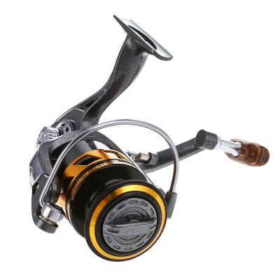 LIE YU WANG Spinning Reel 5.2 : 1Fishing Reels and Rods<br>LIE YU WANG Spinning Reel 5.2 : 1<br><br>Bearing Quantity: 14<br>Fishing Method: Spinning<br>Fishing Reels Type: Fishing Wheel<br>Package Contents: 1 x 13 + 1 Bearings Fishing Spinning Reel<br>Package Size(L x W x H): 13.20 x 13.00 x 8.50 cm / 5.2 x 5.12 x 3.35 inches<br>Package weight: 0.3620 kg<br>Product Size(L x W x H): 12.50 x 8.50 x 11.00 cm / 4.92 x 3.35 x 4.33 inches<br>Product weight: 0.2800 kg