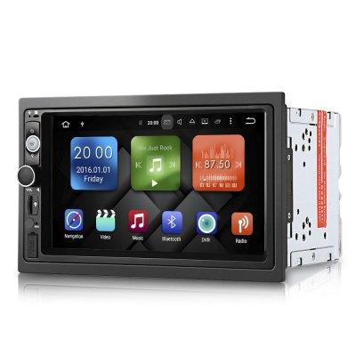 DY7098 Android 6.0 Car Player 7 inch Double DinCar DVD Player<br>DY7098 Android 6.0 Car Player 7 inch Double Din<br><br>Digital Media Format: JPEG, MP3, WMA<br>Display size: 7<br>Install Size: 2 Din<br>Package Contents: 1 x DY7098 Android 6.0 Car Player, 6 x Cable, 2 x Installation Bracket, 4 x Screw, 1 x GPS Antenna, 2 x WiFi / 3G Antenna, 1 x English Operating Manual<br>Package Size(L x W x H): 25.00 x 16.00 x 18.00 cm / 9.84 x 6.3 x 7.09 inches<br>Package weight: 1.9000 kg<br>Product weight: 1.0000 kg<br>Resolution: 1024 x 600<br>Special features: Bluetooth, CD-R, CD-RW, Touch Screen, Built-in GPS