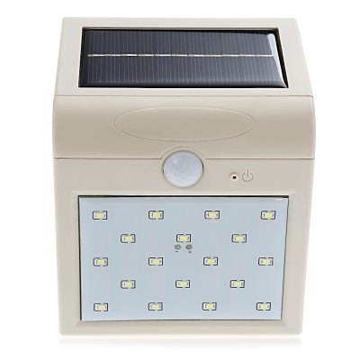 18 LEDs Solar Energy Human Body Induction Wall Lamp