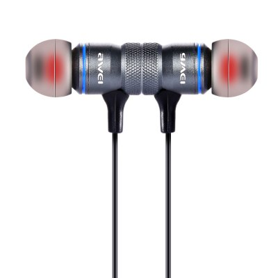 Awei A920BL Sports EarbudsSports &amp; Fitness Headphones<br>Awei A920BL Sports Earbuds<br><br>Package Contents: 1 x A920BL Bluetooth Earphone, 1 x USB Charging Cable, 1 x Bilingual User Manual in English and Chinese , 2 x Pair of Earbuds, 1 x Cable Clamp, 1 x Pair of Ears Caps<br>Package Size(L x W x H): 18.00 x 9.70 x 3.10 cm / 7.09 x 3.82 x 1.22 inches<br>Package weight: 0.0960 kg<br>Product Size(L x W x H): 65.00 x 2.40 x 1.20 cm / 25.59 x 0.94 x 0.47 inches<br>Product weight: 0.0260 kg