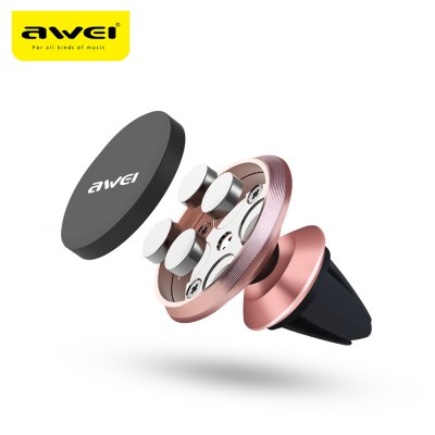 Awei X5 Air Vent Magnet 360 Degree Rotate Car Mount Holder