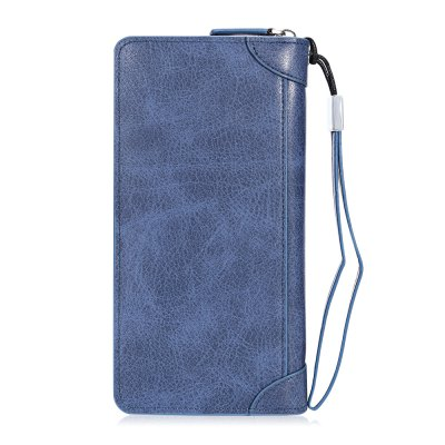Baellerry Casual Solid PU Leather Zipper Wallet for MenWallets<br>Baellerry Casual Solid PU Leather Zipper Wallet for Men<br><br>Closure Type: Zipper<br>Color: Blue, Camel, Coffee, Khaki<br>Embellishment: Solid Color<br>Gender: For Men<br>Hardness: Hard<br>Height: 10<br>Length(CM): 21<br>Main Material: PU Leather<br>Package Contents: 1 x Wallet, 1 x Handle Strap<br>Package size (L x W x H): 26.00 x 15.00 x 7.50 cm / 10.24 x 5.91 x 2.95 inches<br>Package weight: 0.2000 kg<br>Pattern Type: Solid<br>Product weight: 0.1500 kg<br>Strap Length: 15cm<br>Style: Casual<br>Wallets Type: Clutch Wallets<br>Width: 2.5