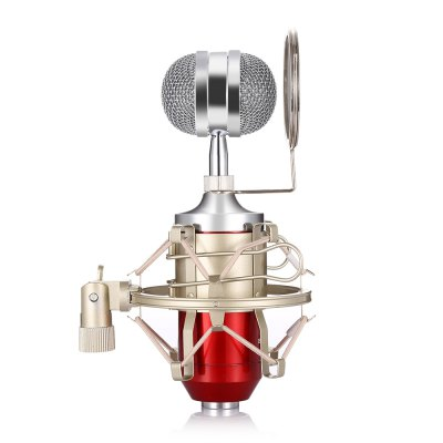 LEIHAO BM - 8000 Uni-directional Condenser MicrophoneMicrophone<br>LEIHAO BM - 8000 Uni-directional Condenser Microphone<br><br>Brand: LEIHAO<br>Package Contents: 1 x BM - 8000 Condenser Microphone, 1 x Holder, 1 x Microphone Pop Filter, 1 x Microphone Cable, 1 x Bilingual User Manual in English and Chinese<br>Package Size(L x W x H): 30.50 x 19.00 x 9.00 cm / 12.01 x 7.48 x 3.54 inches<br>Package weight: 0.8800 kg<br>Product Size(L x W x H): 18.80 x 4.80 x 5.80 cm / 7.4 x 1.89 x 2.28 inches<br>Product weight: 0.2920 kg