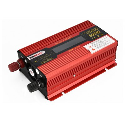 XUYUAN 600W DC 12V to AC 230V Auto Solar Power Inverter