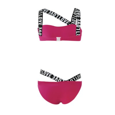 Sexy Letter Printing Bikini SuitsWomens Swimwear<br>Sexy Letter Printing Bikini Suits<br><br>Gender: Women<br>Package Contents: 1 x Bikini Set<br>Package Size(L x W x H): 1.00 x 1.00 x 1.00 cm / 0.39 x 0.39 x 0.39 inches<br>Package weight: 0.1340 kg<br>Product weight: 0.1180 kg<br>With Pad: With pad