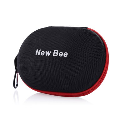 New Bee Compact Hard Case for Bluetooth Foldable HeadbandHeadphone Accessories<br>New Bee Compact Hard Case for Bluetooth Foldable Headband<br><br>Package Contents: 1 x Hard Case with Buckle<br>Package Size(L x W x H): 19.50 x 14.00 x 9.50 cm / 7.68 x 5.51 x 3.74 inches<br>Package weight: 0.1400 kg<br>Product weight: 0.1160 kg