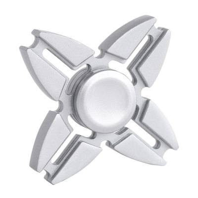 Four-blade Alloy Finger SpinnerFidget Spinners<br>Four-blade Alloy Finger Spinner<br><br>Age Range: &gt; 3 years old<br>Package Contents: 1 x Hand Spinner<br>Package Size(L x W x H): 9.00 x 9.00 x 2.00 cm / 3.54 x 3.54 x 0.79 inches<br>Package weight: 0.0980 kg<br>Product weight: 0.0710 kg
