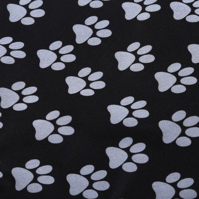 Collapsible Oxford Fabric Pet Rear Back Seat Cover Cars Mat