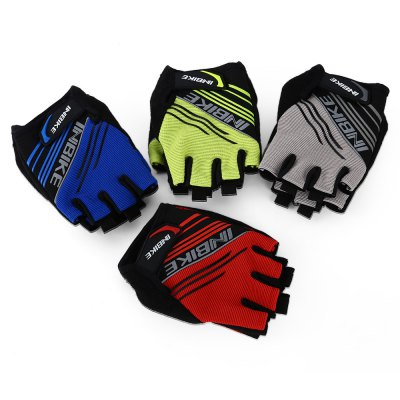 INBIKE Paired Ountdoor GlovesCycling Gloves<br>INBIKE Paired Ountdoor Gloves<br><br>Gender: Unisex<br>Package Contents: 1 x Pair of Half Finger Gloves<br>Package Size(L x W x H): 16.00 x 12.50 x 4.50 cm / 6.3 x 4.92 x 1.77 inches<br>Package weight: 0.0930 kg<br>Product weight: 0.0500 kg