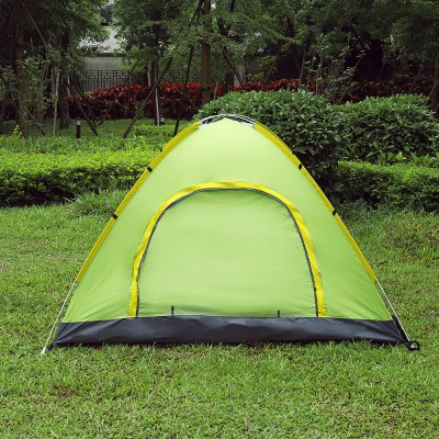 SHENGYUAN Instant Setup 3 - 4 Person Camping TentTent<br>SHENGYUAN Instant Setup 3 - 4 Person Camping Tent<br><br>Bottom Waterproof Index: 1000-1500 mm<br>Building Type: Quick Automatic Opening<br>Layers: Single<br>Outside Tent Waterproof Index: 1000-1500 mm<br>Package Contents: 1 x Camping Tent, 1 x Rain Cover, 8 x Tent Peg, 1 x Windproof Strap, 1 x Bag<br>Package Size(L x W x H): 69.00 x 70.00 x 11.00 cm / 27.17 x 27.56 x 4.33 inches<br>Package weight: 1.6550 kg<br>Product weight: 1.4350 kg<br>Season: Three-season Tent<br>Style: Outdoor<br>Type: 3 - 4 Person Tent
