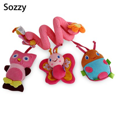 Sozzy Animal Shape Baby Activity Spiral Toy
