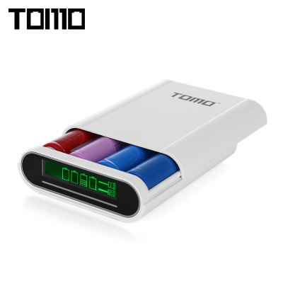 TOMO S4 4 x 18650 Li-ion Battery DIY Smart Power Charger