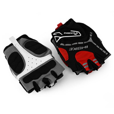 INBIKE Paired Cycling GlovesCycling Gloves<br>INBIKE Paired Cycling Gloves<br><br>Gender: Unisex<br>Package Contents: 1 x Pair of Half Finger Gloves, 1 x Bag, 1 x English Instruction<br>Package Size(L x W x H): 25.50 x 14.00 x 4.00 cm / 10.04 x 5.51 x 1.57 inches<br>Package weight: 0.1100 kg<br>Product weight: 0.0360 kg