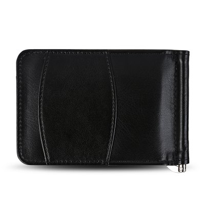 FLAMA Simple PU Leather Cash Clip Card Wallet for MenWallets<br>FLAMA Simple PU Leather Cash Clip Card Wallet for Men<br><br>Closure Type: Open<br>Color: Black<br>Gender: For Men<br>Hardness: Hard<br>Height: 8<br>Length(CM): 12<br>Main Material: PU Leather<br>Package Contents: 1 x Card Wallet<br>Package size (L x W x H): 12.50 x 2.00 x 8.50 cm / 4.92 x 0.79 x 3.35 inches<br>Package weight: 0.0790 kg<br>Pattern Type: Solid<br>Product weight: 0.0570 kg<br>Style: Fashion<br>Wallets Type: Card Wallets<br>Width: 1.5