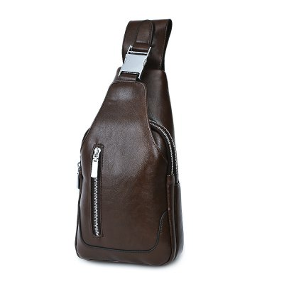 LEINASEN PU Leather Solid Color Chest Bag for MenMens Bags<br>LEINASEN PU Leather Solid Color Chest Bag for Men<br><br>Closure Type: Zipper<br>Gender: For Men<br>Handbag Type: Satchel<br>Hardness: Soft<br>Main Material: PU<br>Occasion: Versatile<br>Package Contents: 1 x Chest Bag<br>Package size (L x W x H): 20.00 x 10.00 x 37.00 cm / 7.87 x 3.94 x 14.57 inches<br>Package weight: 0.7130 kg<br>Pattern Type: Solid<br>Product size (L x W x H): 17.00 x 9.00 x 32.00 cm / 6.69 x 3.54 x 12.6 inches<br>Product weight: 0.5170 kg<br>Style: Fashion<br>Weight: 1.4800kg