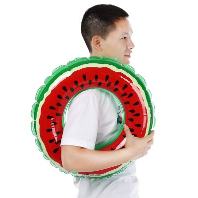 xiaribaobei Watermelon Inflatable Swimming Ring Pool FloatSwimming<br>xiaribaobei Watermelon Inflatable Swimming Ring Pool Float<br><br>Applicable People: Child, Men, Women<br>Package Contents: 1 x Inflatable Swimming Ring<br>Package Size(L x W x H): 22.00 x 17.00 x 3.00 cm / 8.66 x 6.69 x 1.18 inches<br>Package weight: 0.1370 kg<br>Product weight: 0.1100 kg