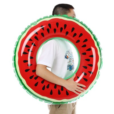 xiaribaobei Watermelon Inflatable Swimming Ring Pool FloatSwimming<br>xiaribaobei Watermelon Inflatable Swimming Ring Pool Float<br><br>Applicable People: Child, Men, Women<br>Package Contents: 1 x Inflatable Swimming Ring<br>Package Size(L x W x H): 27.00 x 24.00 x 2.00 cm / 10.63 x 9.45 x 0.79 inches<br>Package weight: 0.2860 kg<br>Product weight: 0.2470 kg
