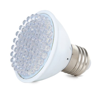 E27 220V LED Grow Light for Hydroponics VegetablesGrow Lights<br>E27 220V LED Grow Light for Hydroponics Vegetables<br><br>Bulb Base Type: E27<br>Color: White<br>LED Chip Brand: Epistar<br>Package Contents: 1 x LED Grow Light<br>Package Size(L x W x H): 6.90 x 6.90 x 7.00 cm / 2.72 x 2.72 x 2.76 inches<br>Package weight: 0.0700 kg<br>Product Size(L x W x H): 6.30 x 6.30 x 6.50 cm / 2.48 x 2.48 x 2.56 inches<br>Product weight: 0.0380 kg<br>Support Dimmer: No<br>Voltage: 220V