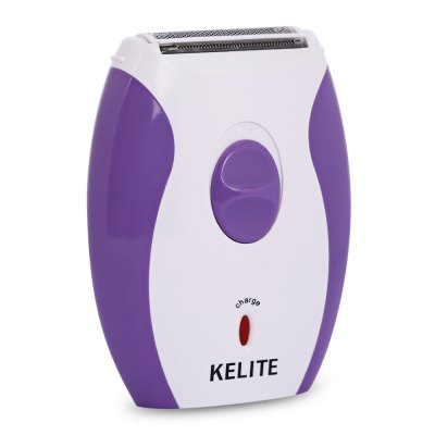 KELITE KLT - 518 Electric Shaver for WomenEpilators<br>KELITE KLT - 518 Electric Shaver for Women<br><br>Materials: ABS<br>Package Content: 1 x Lady Shaver, 1 x Brush, 1 x Protective Cap, 1 x Charging Cable, 1 x Product Manual in English and Chinese<br>Package Size(L x W x H): 14.50 x 12.50 x 4.00 cm / 5.71 x 4.92 x 1.57 inches<br>Package weight: 0.1890 kg<br>Power Type: Rechargeable<br>Product weight: 0.0910 kg