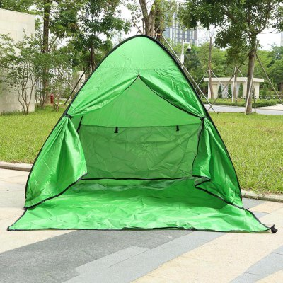Outlife Instant Setup 2 Person Beach Tent with Door CurtainTent<br>Outlife Instant Setup 2 Person Beach Tent with Door Curtain<br><br>Building Type: Quick Automatic Opening<br>Fabric: Polyester<br>Layers: Single<br>Package Contents: 1 x Camping Tent, 6 x Tent Peg, 1 x Bag<br>Package Size(L x W x H): 47.00 x 45.00 x 6.00 cm / 18.5 x 17.72 x 2.36 inches<br>Package weight: 1.0250 kg<br>Pole Material: Steel<br>Product weight: 0.9050 kg<br>Season: Three-season Tent<br>Structure: One Bedroom<br>Style: Extended Type<br>Type: 1 - 2 Person Tent