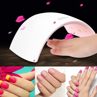 UVLED SUN9C 24W LED / UV Phototherapy Nail Gel LampUV Lamp<br>UVLED SUN9C 24W LED / UV Phototherapy Nail Gel Lamp<br><br>Materials: Plastic<br>Package Content: 1x Nail Lamp, 1x Bilingual User Manual in English and Chinese, 1x AC Adapter<br>Package Size(L x W x H): 26.00 x 17.00 x 10.00 cm / 10.24 x 6.69 x 3.94 inches<br>Package weight: 0.498 kg<br>Power: 5076<br>Power Type: Electric<br>Product Size  ( L x W x H ): 21.00 x 12.00 x 7.00 cm / 8.27 x 4.72 x 2.76 inches<br>Product weight: 0.290 kg<br>Type: LED Lamps<br>Voltage: 110 - 240V