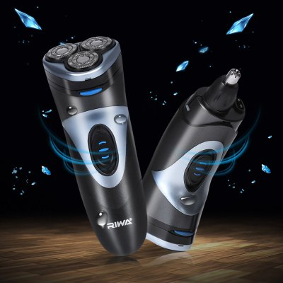 RIWA RA - 331A 2 in 1 Electric Floating Shaver Nose Trimmer