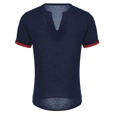 Casual Button Design Slim Fit Men Short Sleeve T-shirtMens Short Sleeve Tees<br>Casual Button Design Slim Fit Men Short Sleeve T-shirt<br><br>Collar: V-Neck<br>Fabric Type: Broadcloth<br>Material: Cotton Blends, Modal<br>Package Contents: 1 x T-shirt<br>Pattern Type: Others<br>Sleeve Length: Short<br>Style: Casual<br>Weight: 0.1680kg