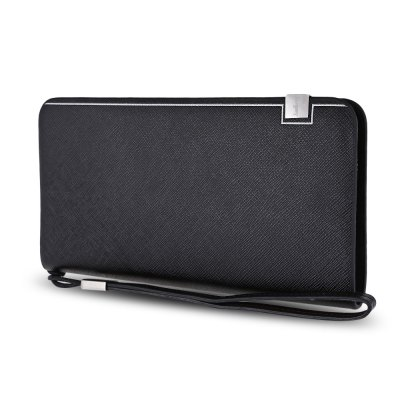 Baellerry Multifunction Card Holder Men Clutch WalletCoin Purse &amp; Card Holder<br>Baellerry Multifunction Card Holder Men Clutch Wallet<br><br>Closure Type: Zipper<br>Color: Black, coffee, blue<br>Gender: For Men<br>Height: 11<br>Interior: Interior Zipper Pocket<br>Length(CM): 20.5<br>Main Material: PU Leather<br>Package Contents: 1 x Clutch Wallet<br>Package size (L x W x H): 25.50 x 7.30 x 16.00 cm / 10.04 x 2.87 x 6.3 inches<br>Package weight: 0.2740 kg<br>Pattern Type: Solid<br>Product weight: 0.2380 kg<br>Strap Length: 25.5cm<br>Style: Casual<br>Wallets Type: Clutch Wallets<br>Width: 2.5