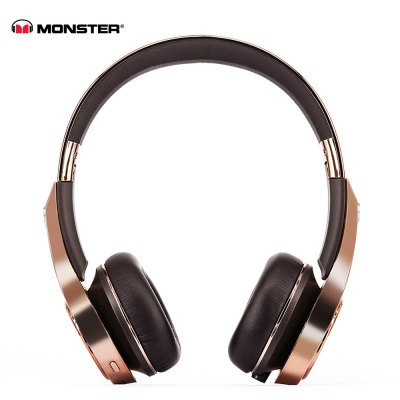 Monster Element On-ear Bluetooth 4.0 Headband with Mic