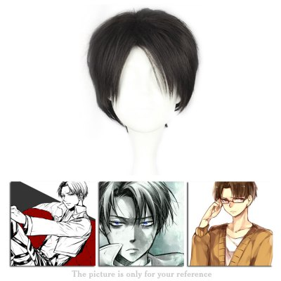 Mcoser Short Straight Middle Bang Anime Wig for RivailleCosplay Wigs<br>Mcoser Short Straight Middle Bang Anime Wig for Rivaille<br><br>Bang Type: Middle<br>Lace Wigs Type: None Lace Wigs<br>Length: Short<br>Length Size(CM): 35<br>Length Size(Inch): 13.78<br>Material: Synthetic Hair<br>Package Contents: 1 x Wig, 1 x Wig<br>Package size (L x W x H): 32.00 x 16.00 x 4.50 cm / 12.6 x 6.3 x 1.77 inches, 32.00 x 16.00 x 4.50 cm / 12.6 x 6.3 x 1.77 inches<br>Package weight: 0.1710 kg<br>Product size (L x W x H): 35.00 x 5.00 x 2.00 cm / 13.78 x 1.97 x 0.79 inches, 35.00 x 5.00 x 2.00 cm / 13.78 x 1.97 x 0.79 inches<br>Product weight: 0.1500 kg<br>Style: Straight<br>Type: Full Wigs