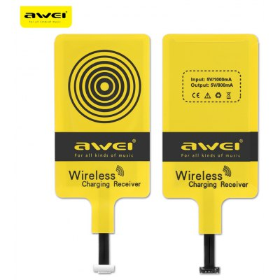 Awei Qi Wireless Charging Receiver for Android Mobile Phone
